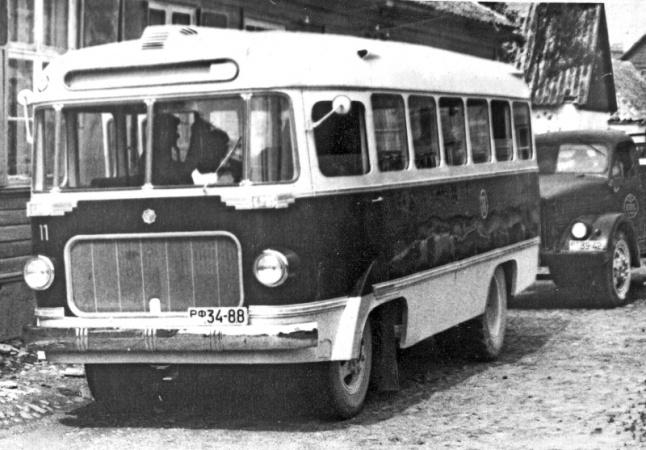 Saaremaa autotranspordibaasi nr 11 liinibuss РФ 34-88