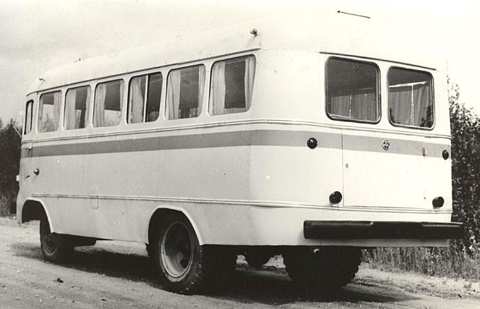 1980ndatel kapitaalremonditud autobuss TA-6