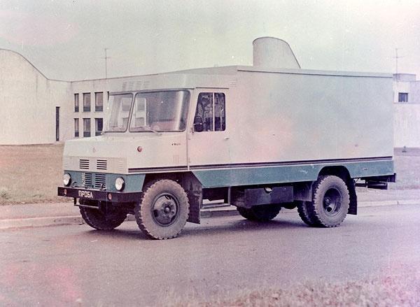 Moderniseeritud kerega toiduaineteveo furgoonauto TA-3760-01 katsemudel 1986. a.