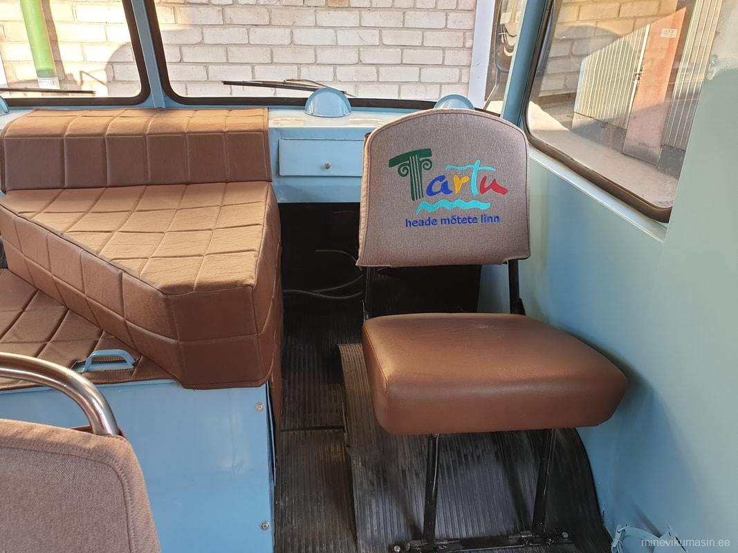 Bussi restaureerimine 2018-2019