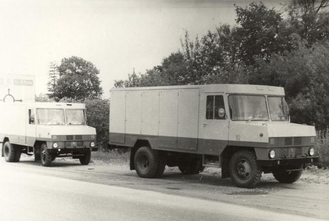 TA-3761-01 moderniseeritud kerega pagaritoodeteveo furgoonauto