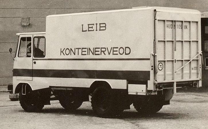 Konteinerveo furgoonauto TA-943K katsemudel (TA-26)