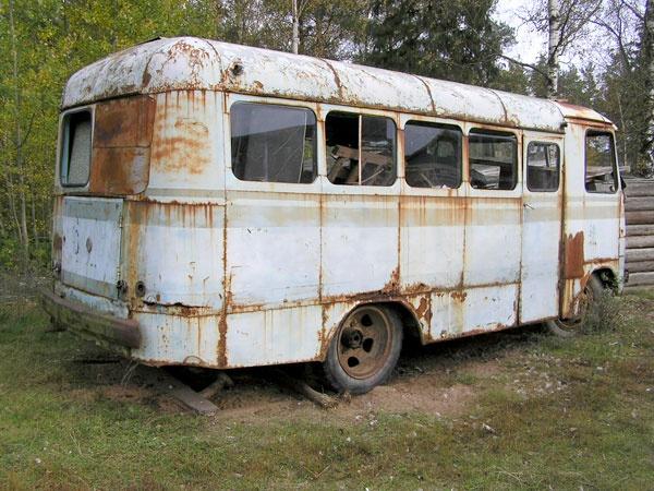 moderniseeritud kerega autobussTA-6-1
