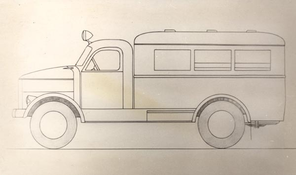TA-5 eriotstarbeline autobuss