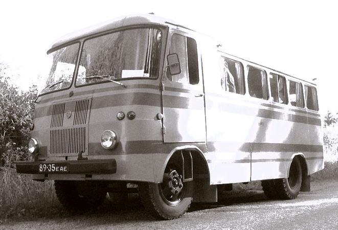 TA-6-1 moderniseeritud furgoonbuss