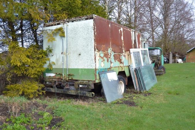 moderniseeritud kerega toiduaineteveo furgoonautoTA-3760-01