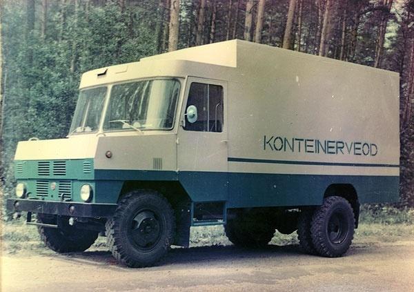 moderniseeritud kerega konteinerveo furgoonauto TA-3763-01 (1987. a.)