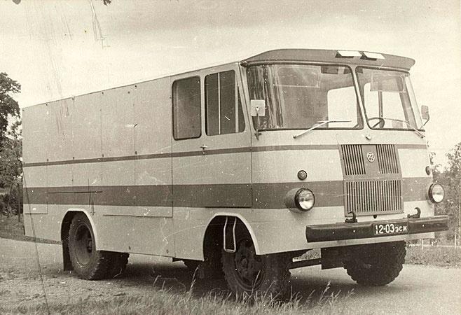 TA-9A3 kulinaariatoodeteveo furgoonauto