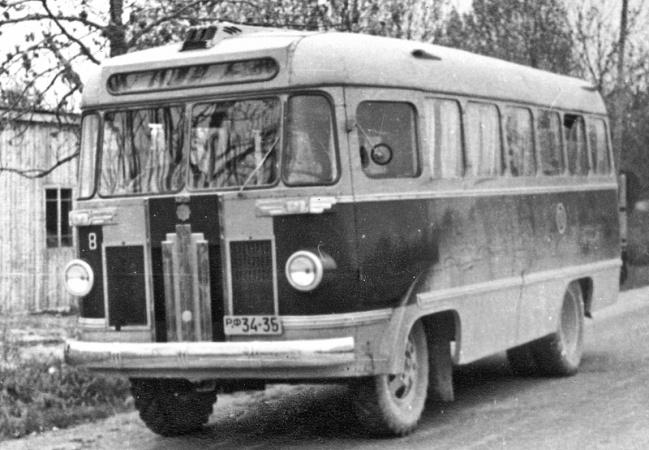 Saaremaa autotranspordibaasi nr 11 liinibuss РФ 34-35
