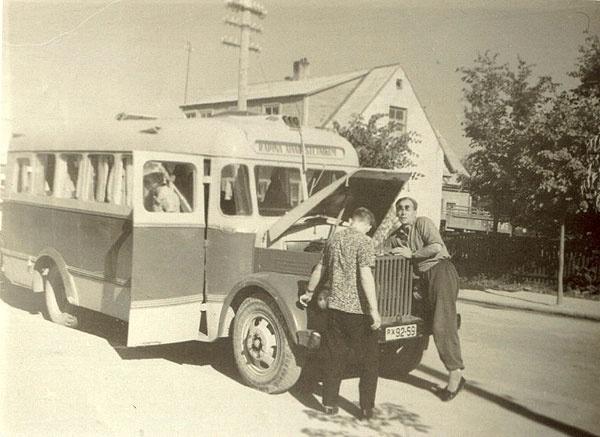 pikendatud kerega autobussTA-1A