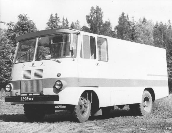 TA-943 pagaritoodeteveo furgoonauto