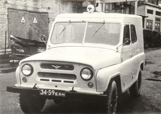 furgoonauto УАЗ-469 baasil