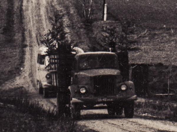 TA-6 matusebussina 1970. aasta sügisel