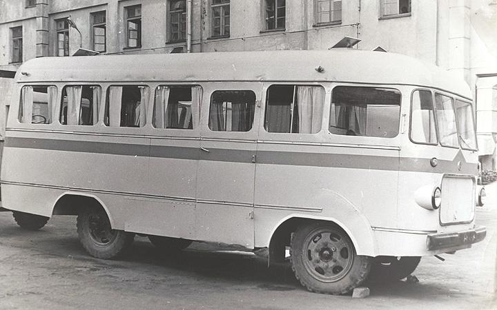 TA-6 autobussi 1970ndate modifikatsioon