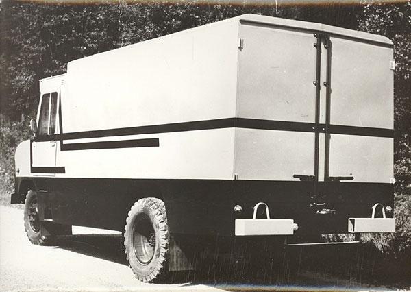 furgoonauto TA-29 kolmas katsemudel (valmis 1979. a. kevadel)