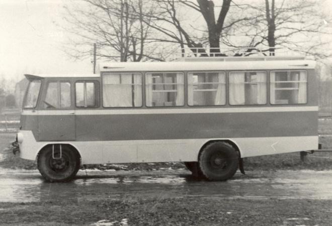 TA-23-2 - universaalne teenindusfurgoon, 1969. a.