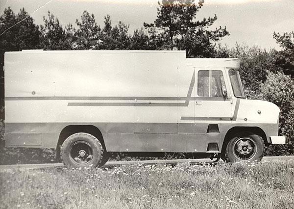 furgoonauto TA-29 teine katsemudel (valmisid 1979. a. kevadel)