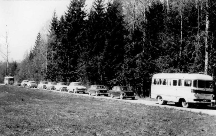 TA-6 matusebussina Põlva kandis.