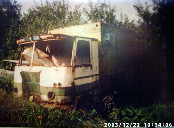 konteinervedude furgoonauto ETKVL-i A-38A furgoonigaTA-943/943E