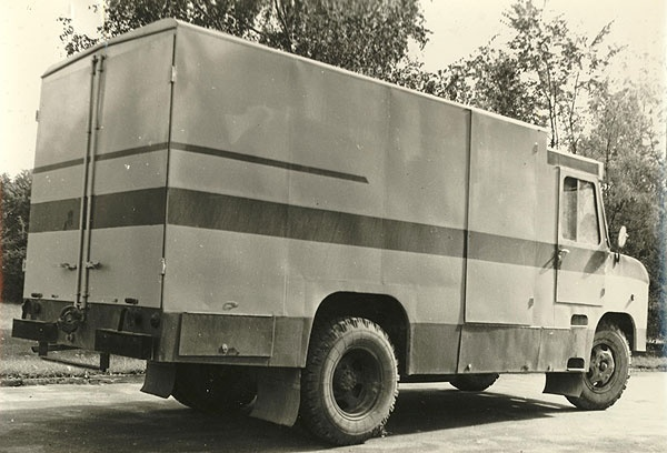 furgoonauto TA-29 esimene katsemudel (valmis 1978. a.)
