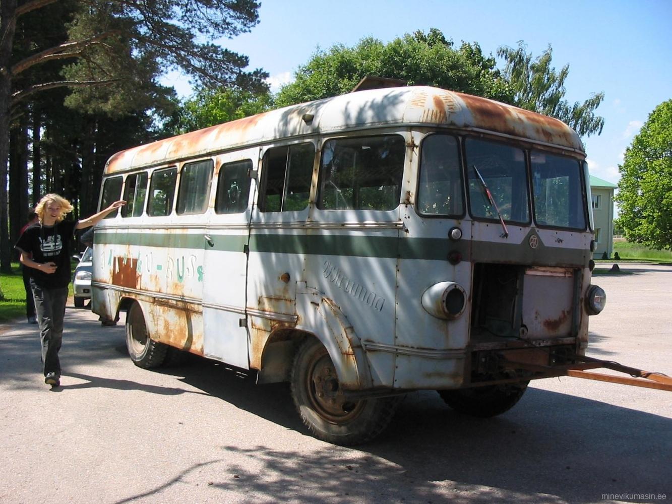 Bussi transport Järva-Jaani