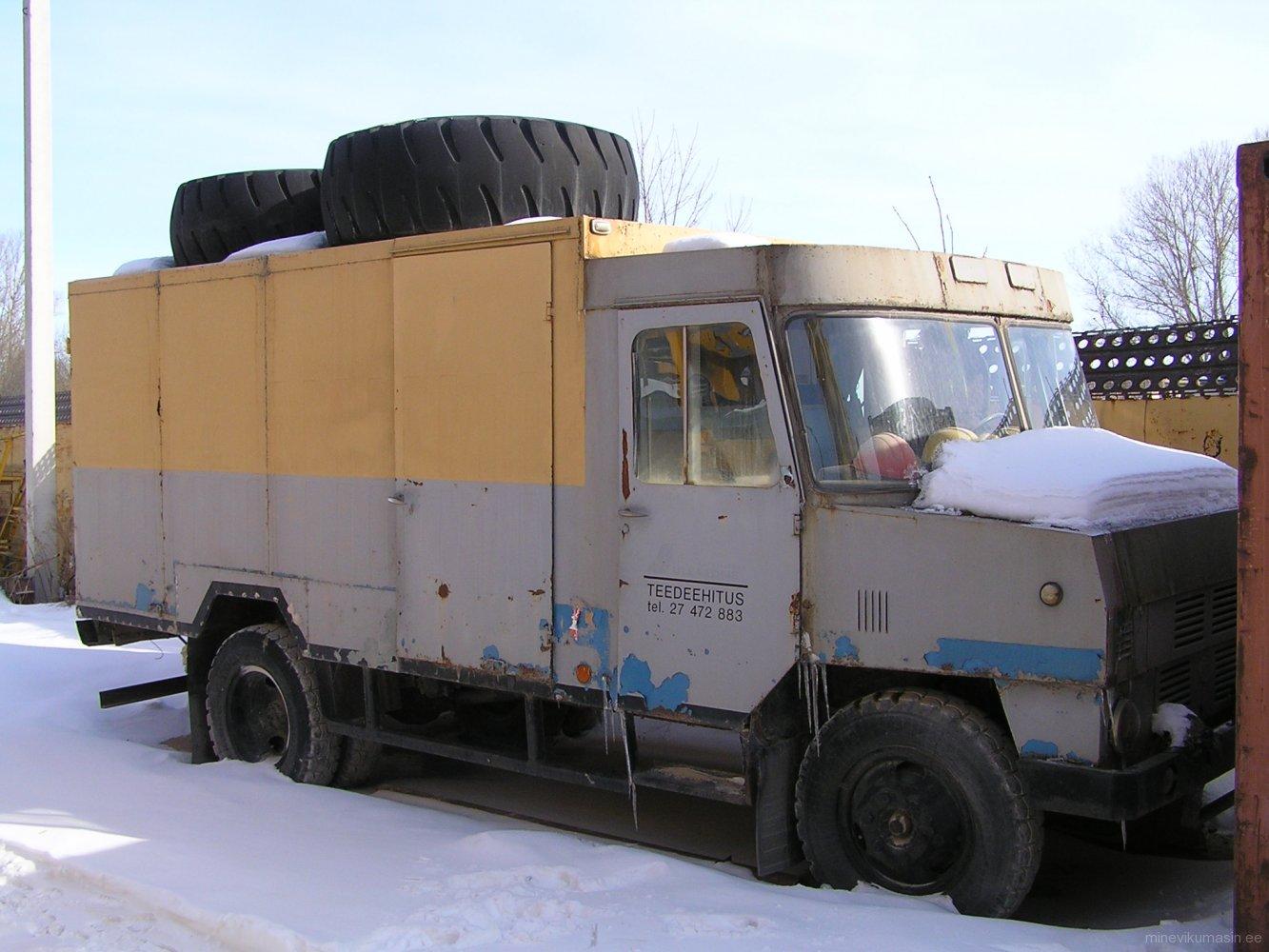 Endine Tartu piimakombinaadi furgoonauto TA-3760-01.