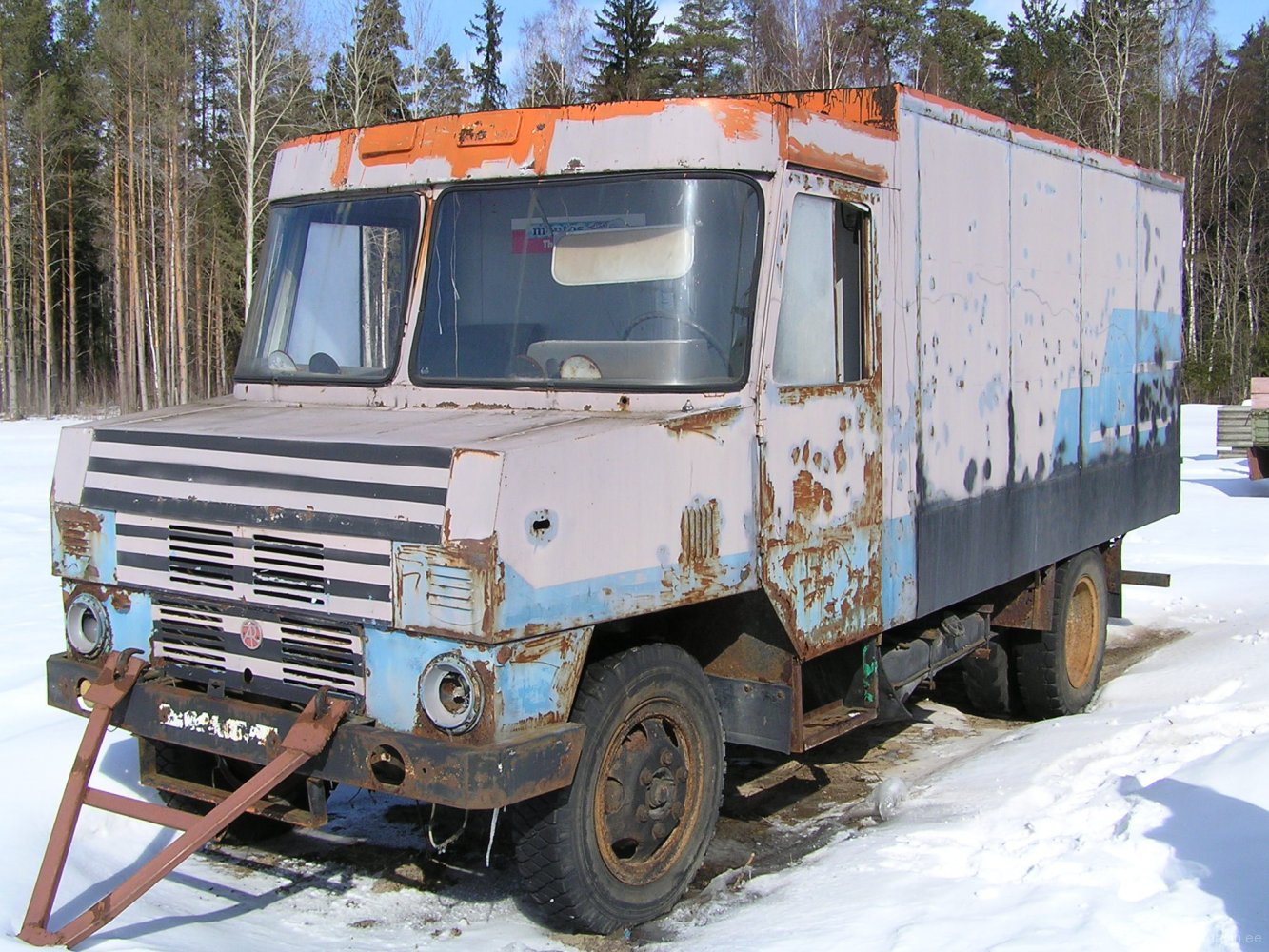 Endine Tartu piimakombinaadi furgoonauto TA-3760-01