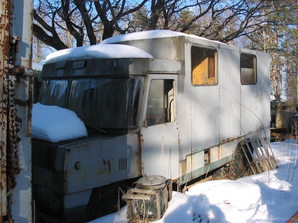 modreniseeritud kerega piimaveo furgoonautoTA-37601-01
