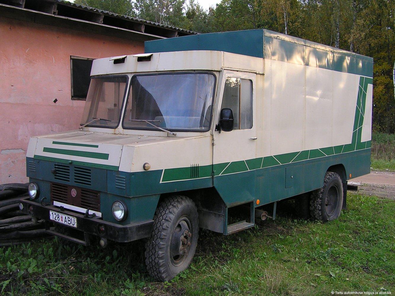 2006. a sügisel viidi auto uude asukohta Tartu külje all.