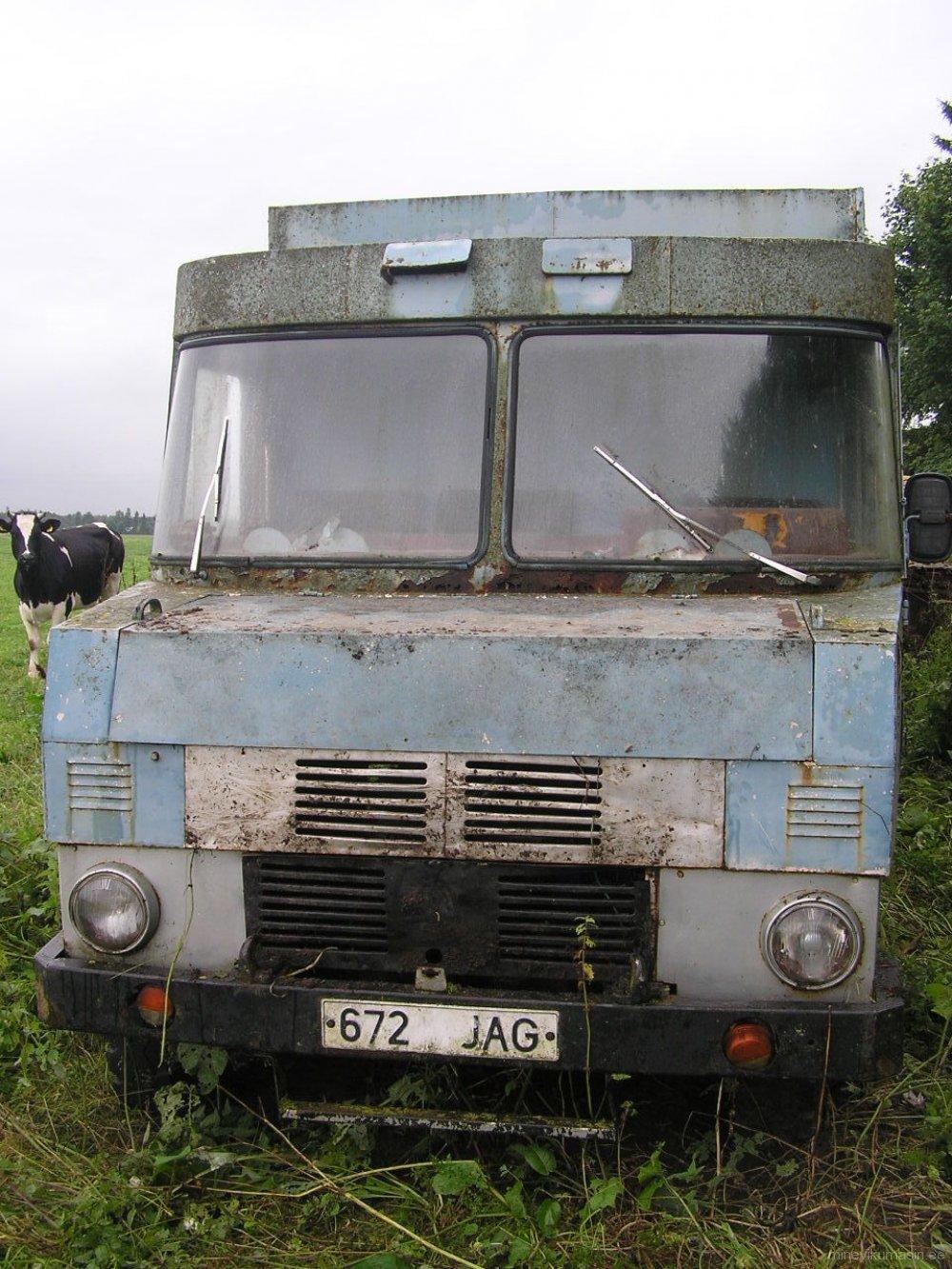 Endine Adavere Lihatööstuse furgoonauto.