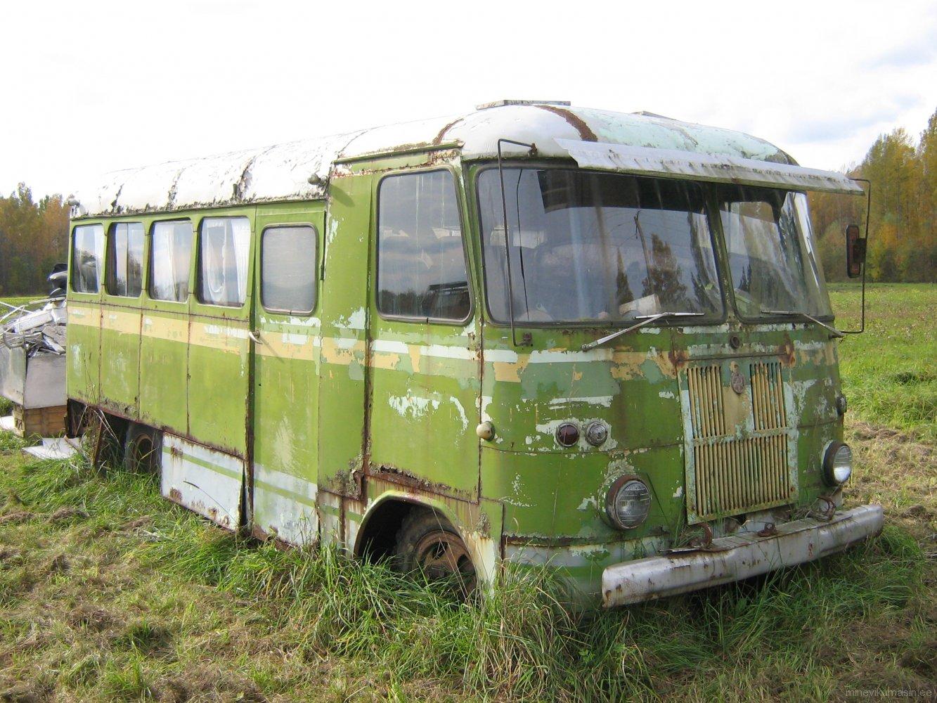 Endine Põlva METi autobuss TA-6-1.