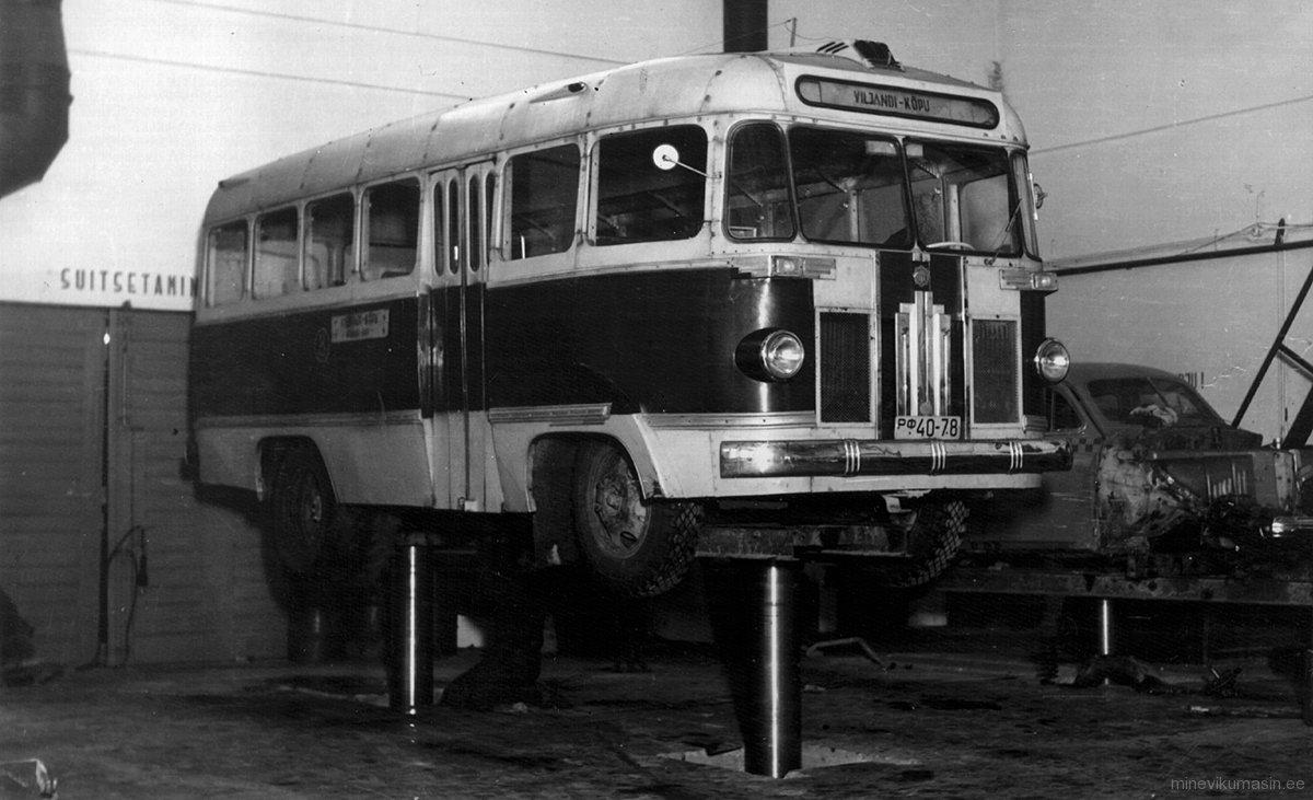 Viljandi-Kõpu liinibuss, reg nr РФ 40-78