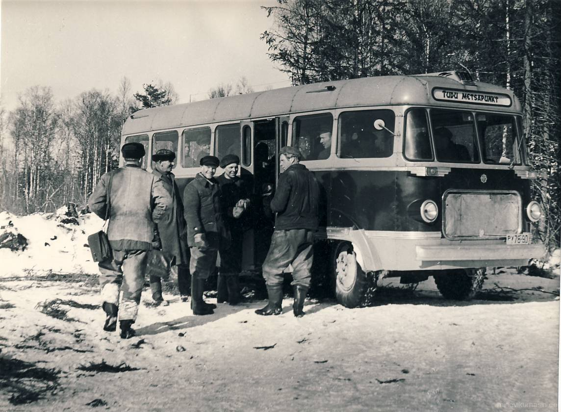 Tudu metsapunkti autobuss TA-6.<br>RM F 13447