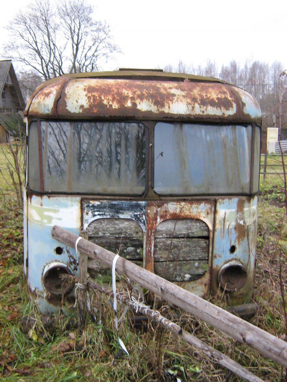 Endine Tartu 3053. autokolonni furgoonauto TA-9E.